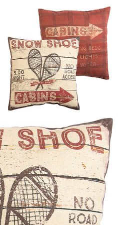Remember back to winter vacations before the proliferation of electronics? The Winter Recreation Throw Pillow is here to give you a taste. Perfect for a country cabin or rugged den décor, this pillow i...  Find the Winter Recreation Throw Pillow, as seen in the A Rustic Home for the Holidays Collection at http://dotandbo.com/collections/styleyourseason-a-rustic-home-for-the-holidays?utm_source=pinterest&utm_medium=organic&db_sku=115451