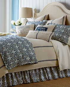 -4YQS French Laundry Home Bryn Bedding