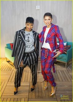 Zendaya & Keke Palmer at the Vivienne Westwood Penthouse Opening At The London Hotel Girl Fashion Style, Black Girl Fashion, Fashion Beauty, Girl Style, Women's Fashion, The Vivienne, Zendaya Coleman, Keke Palmer, Hollywood