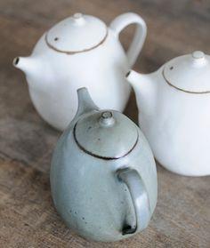 Jurgen Lehl Babaghuri teapots.