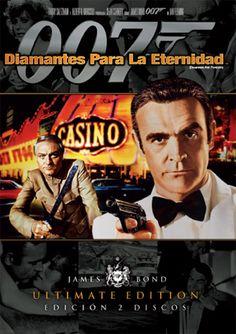 Diamantes para la eternidad (1971) Reino Unido. Dir: Guy Hamilton. Acción. Aventuras - DVD CINE 537