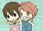 I usually ship tamaki x Haruhi but Haruhi and hikaru go surprisingly well together