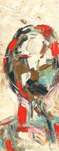 "Daily Paintworks - ""Struggling"" - Original Fine Art for Sale - © Kali Parsons"