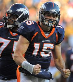 Tim Tebow  always my hero.  I will miss you in Denver but will watch you on NFL.com