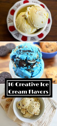 From sweet to savory, here are 16 creative ice cream flavors!
