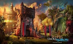Scene from Nevertales Smoke and Mirrors by madheadgames on DeviantArt
