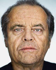 A Conversation with Martin Schoeller Jack Nicholson 2002