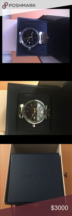 A woman's Louis Vuitton watch. Brand new -have original box and receipt. Louis Vuitton Accessories Watches