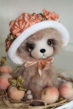 Girl with Peaches by By Sadovskaya Tatiana | Bear Pile
