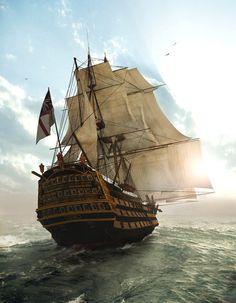 Pirates. Uma expressão do cconceito aventura. Amo isso.