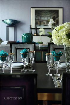 Contemporary Dining Room Ideas to Inspire You Luxury Dining Tables, Dining Table Design, Dinning Table, Dining Room, Table Arrangements, Furniture Design, Luxury Furniture, Table Decorations, Contemporary