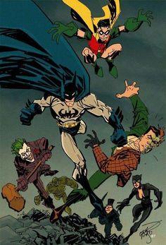 Batman and Rouges Erik Larsen