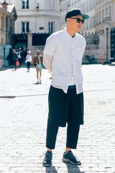 Tommy Ton Calls Out Fashion's Best-Dressed Men
