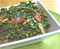 Flash in the Pan: Kale and Hearty Salad  Another recipe option for my new vegetable fav!