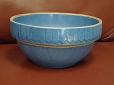 Ninney had two bowls in this pattern, one large and one small. They now grace my kitchen.
