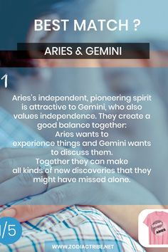 Find your Zodiac Signs Compatibility for all zodiac signs, for couples, relationships and love matches and find your Couple shirts to match. Gemini And Aries Relationship, Capricorn Relationships, Aries And Aquarius, Relationship Compatibility, Gemini Love, Gemini Sign, Aries Men, Couple Relationship, Zodiac Sign Facts