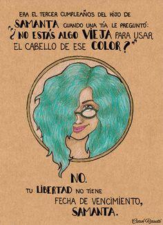 Guía para que las mujeres afronten la presión social: las ilustraciones de Carol Rossetti
