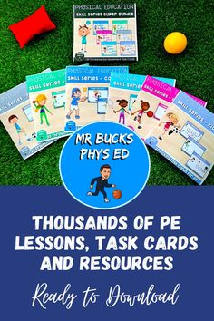 Physical Education Curriculum, Pe Lesson Plans, Ed Game, Primary Games, Elementary Pe, Pe Lessons, Physical Skills, Rubrics, Task Cards