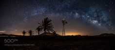 American windmill.  Fuerteventura Starligh Reserve.  Camera: Canon EOS 7D Mark II Focal Length: 11mm Shutter Speed: 30sec Aperture: f/2.8 ISO/Film: 1000  Image credit: http://ift.tt/2a17j69 Visit http://ift.tt/1qPHad3 and read how to see the #MilkyWay  #Galaxy #Stars #Nightscape #Astrophotography