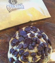 Sooooo excited that @gideonsbakehouse is back! Can't wait to #enjoy one of these unbelievably #delicious cookies this #weekend! @eastendmkt #chocolatechip #cookiedough #salt #yummy #nomnom #getinmybelly #lovecentralfl #nationaldessertday  Yummery - best recipes. Follow Us! #nationaldessertday