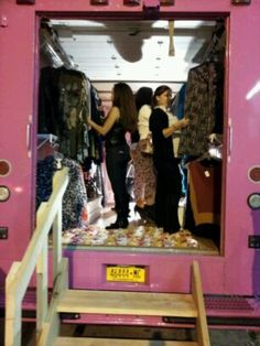 The Ooo la la Fashion Truck. A mobile boutique filled with clothing, accessories and so much more!