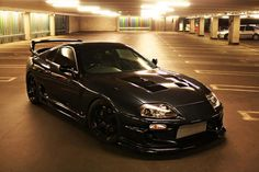 Toyota Supra - in my opinion its the easiest and cheapest car to make it literally fly