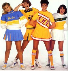 1980's cheerleading uniform - Google Search