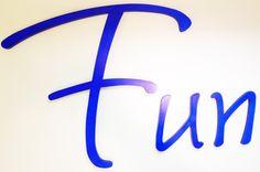 Dekoschrift + Wandbuchstaben + Wandtattooo von PAULSBECK Buchstaben, Dekoration & Geschenke auf DaWanda.com
