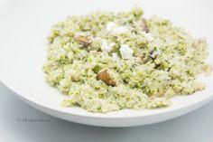 Broccoli Cauliflower Chevre Risotto
