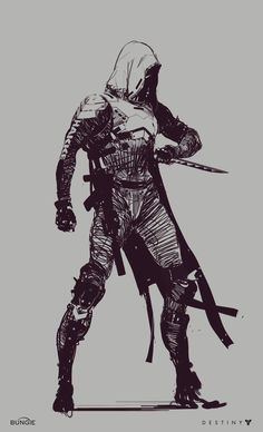 ArtStation - Destiny 2: Hunters, Ryan DeMita