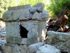 Lycian Rock Tomb, Olympos. One of the stops on our #GuletVoyage