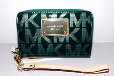 Michael Kors Emerald Green Phone Iphone Case Holder New with Tag Wristlet --- http://www.amazon.com/Michael-Emerald-Iphone-Holder-Wristlet/dp/B00ANTU9WC/?tag=Select your iphone