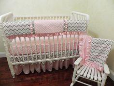 Baby Bedding Crib Set Andrea New! : Just Baby Designs, Custom Baby Bedding Custom Crib Bedding Custom Nursery Bedding