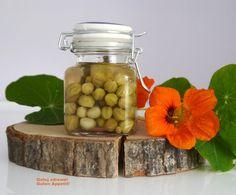 Polskie kapary - Gotuj zdrowo, kolorowo! Mason Jars, Mason Jar, Glass Jars, Jars