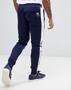 f2509248e8a7d Puma | Puma Archive T7 Joggers In Navy 57265706 Workout Outfits, Sport Wear,  Joggers