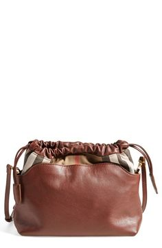 bf4c0fe17615 Burberry  Little Crush  House Check Crossbody Bag available at  Nordstrom  Nordstrom Burberry
