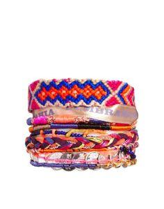 Hipanema   Hipanema Iceburg Bracelet at ASOS Bijoux, Hippie, Hippie Chic,  Dyi, 9a696203842