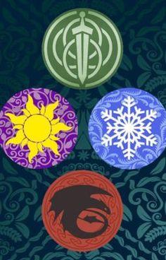 Big Four symbols