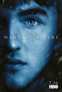 Bran #GoTS7 #WinterisHere Character Poster from www.watchersonthewall.com