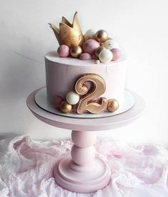 online - wedding cakes cakes elegant cakes rustic cakes simple cakes unique cakes with flowers Baby Birthday Cakes, Baby Cakes, Girl Cakes, Birthday Cake Crown, Pear And Almond Cake, Almond Cakes, Fondant Cakes, Cupcake Cakes, Elegant Cakes