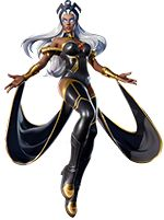 White Hair, Blue Hair, Storm Marvel, Ororo Munroe, Female Eyes, Marvel Comic Character, 1 Image, X Men, Ravenna