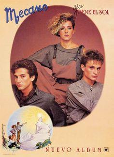 Mecano, their 3rd album, Ya Viene el Sol 1984, such a Fantastic album and sound, LOVE it !
