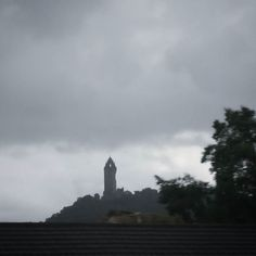 Wallace Monument fights against the grey