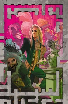 STUDIOS (W) Simon Spurrier (A) Daniel Bayliss, Irene Flores (CA) Fiona Staples Maria finds allies willing to help guide her to the center of the Labyrinth and to her son, Jareth. David Bowie Labyrinth, Labyrinth 1986, Labyrinth Movie, Sarah And Jareth, Old Cartoon Shows, Jim Henson Labyrinth, Goblin King, Boom Studios, Fantasy Movies