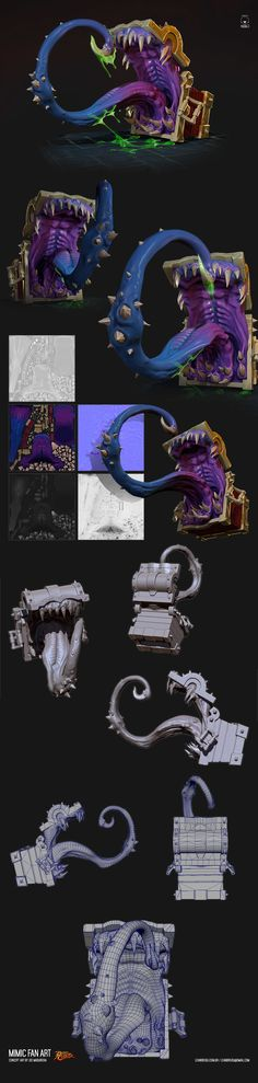 ArtStation - Mimic-FAN ART, Leandro Jorge