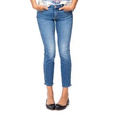 Denim Hyde Park Ankle Straight Jeans