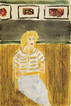 Elizabeth Bishop's Other Art by William Benton | NYRblog | The New York Review of Books