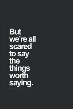 Speak truth