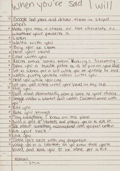 soo besides the romantic couple ones I would do most of these for any of my friends who were sad. always here :)