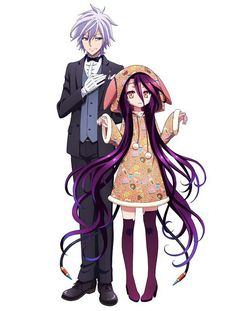 No game No life Zero Shuvi and Riku